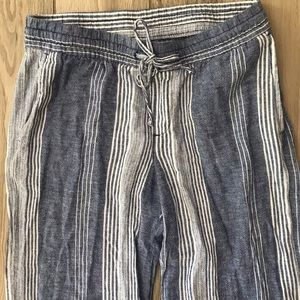 Old Navy Linen Draw-string Pants